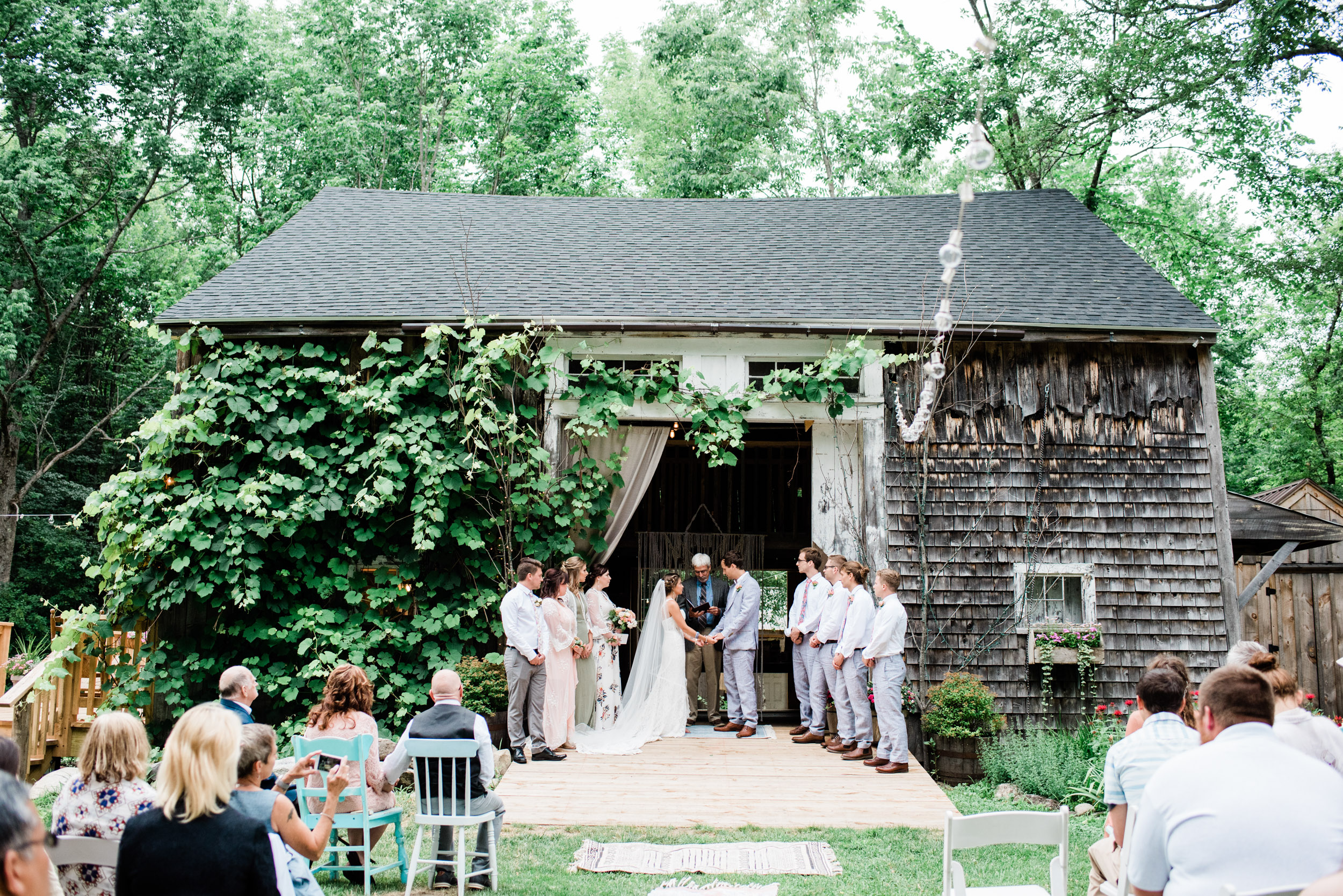 Caswell Barn Wedding In Maine