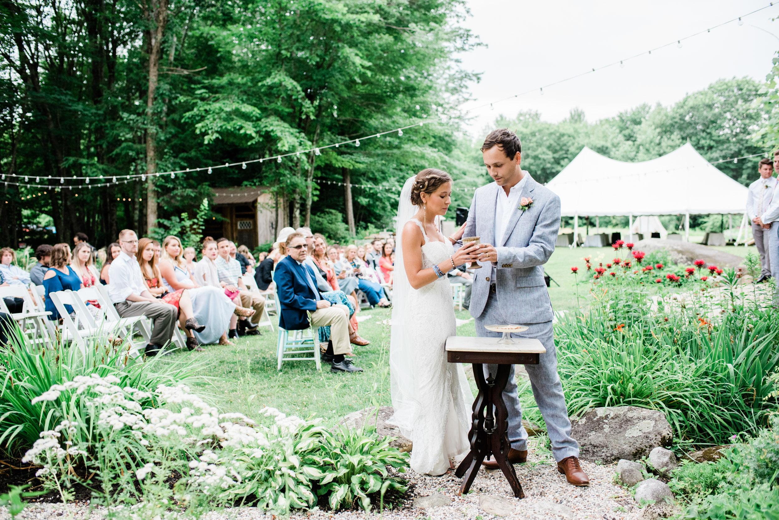 Outdoor Wedding Ceremonies in Western Mass