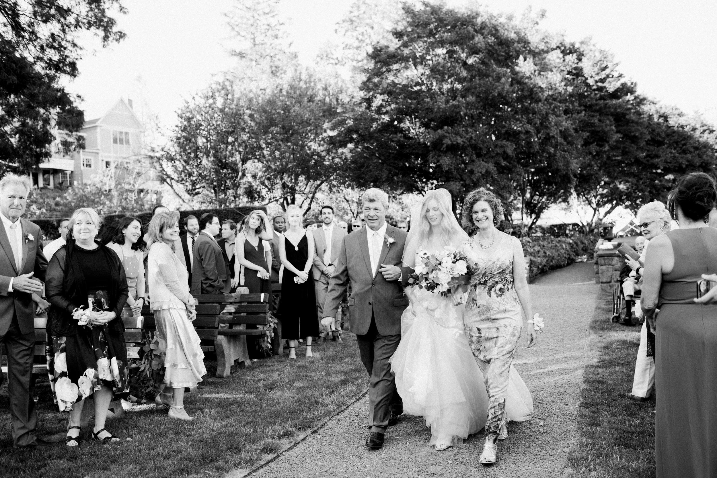 Outdoor Wedding Ceremony in the Berkshires
