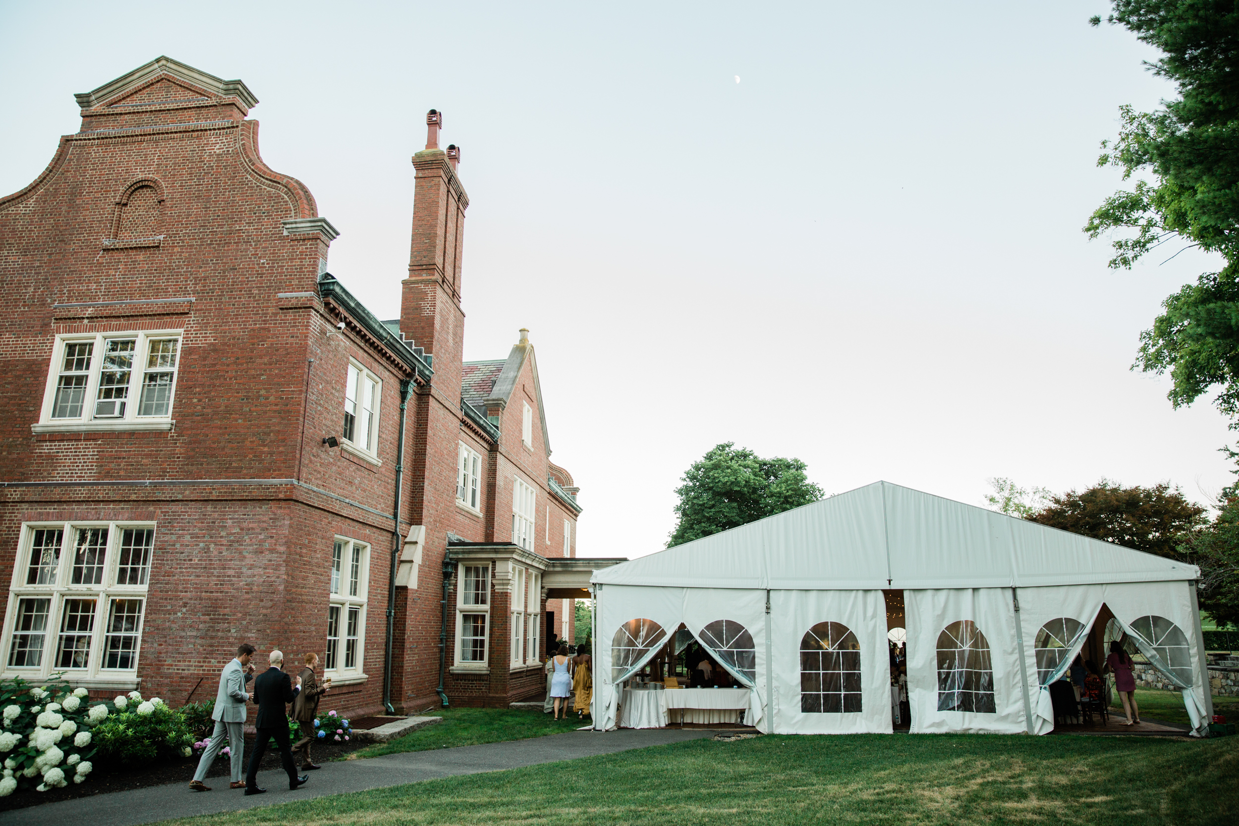 The Mansion on Turner Hill Wedding Day