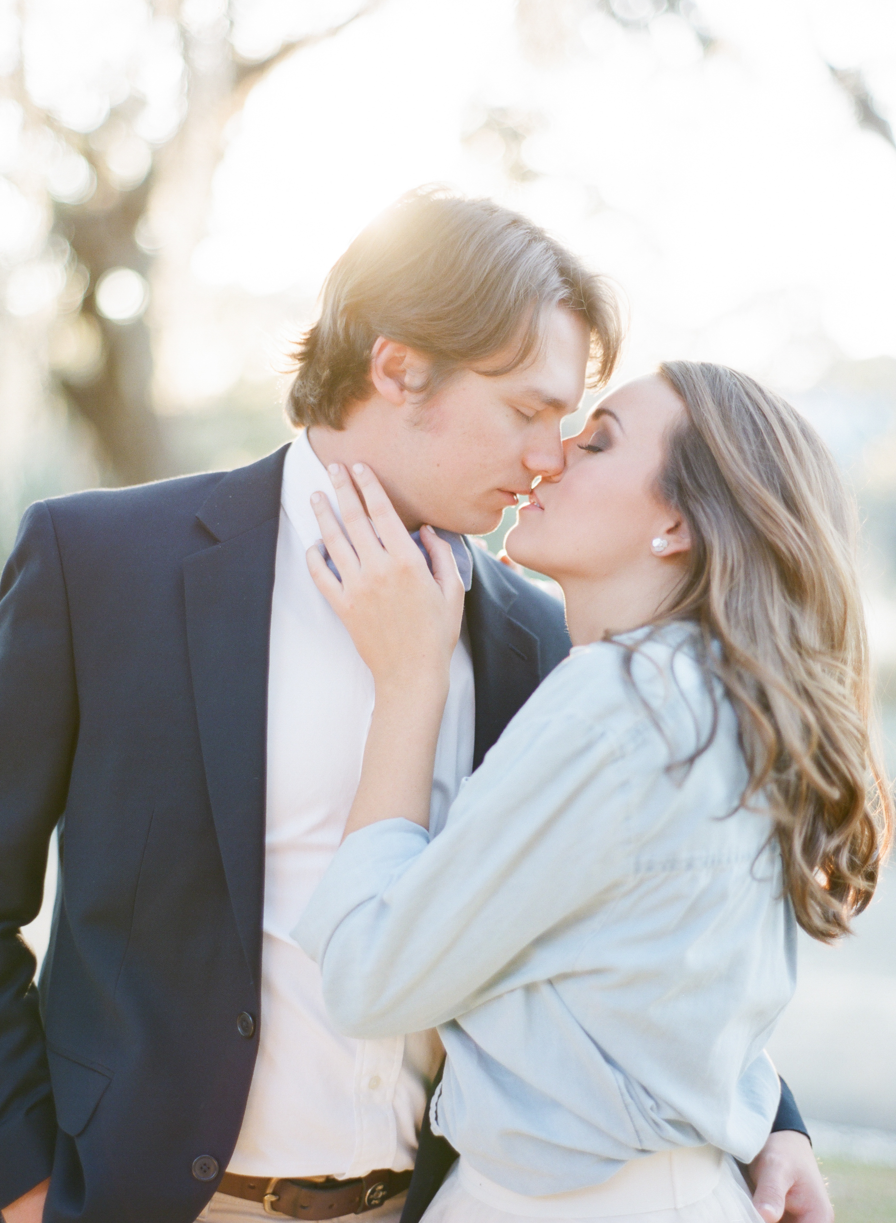 Sunset Engagement Photos in New England