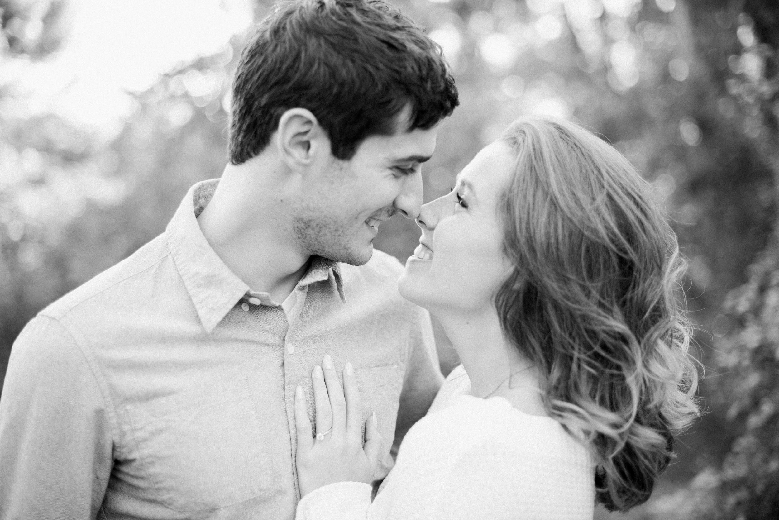 Black & White Engagement Photos