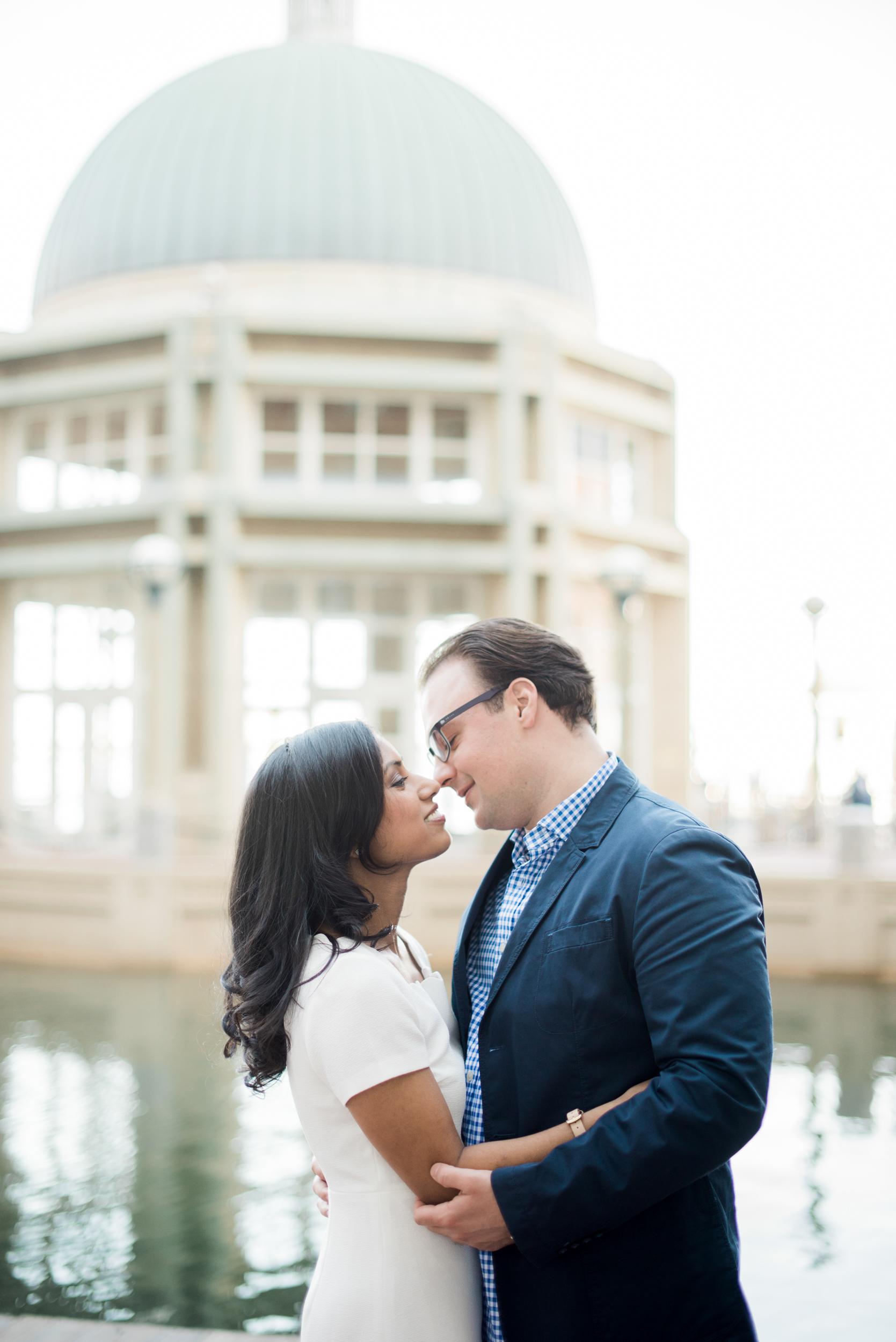 Boston Seaport Couples portraits