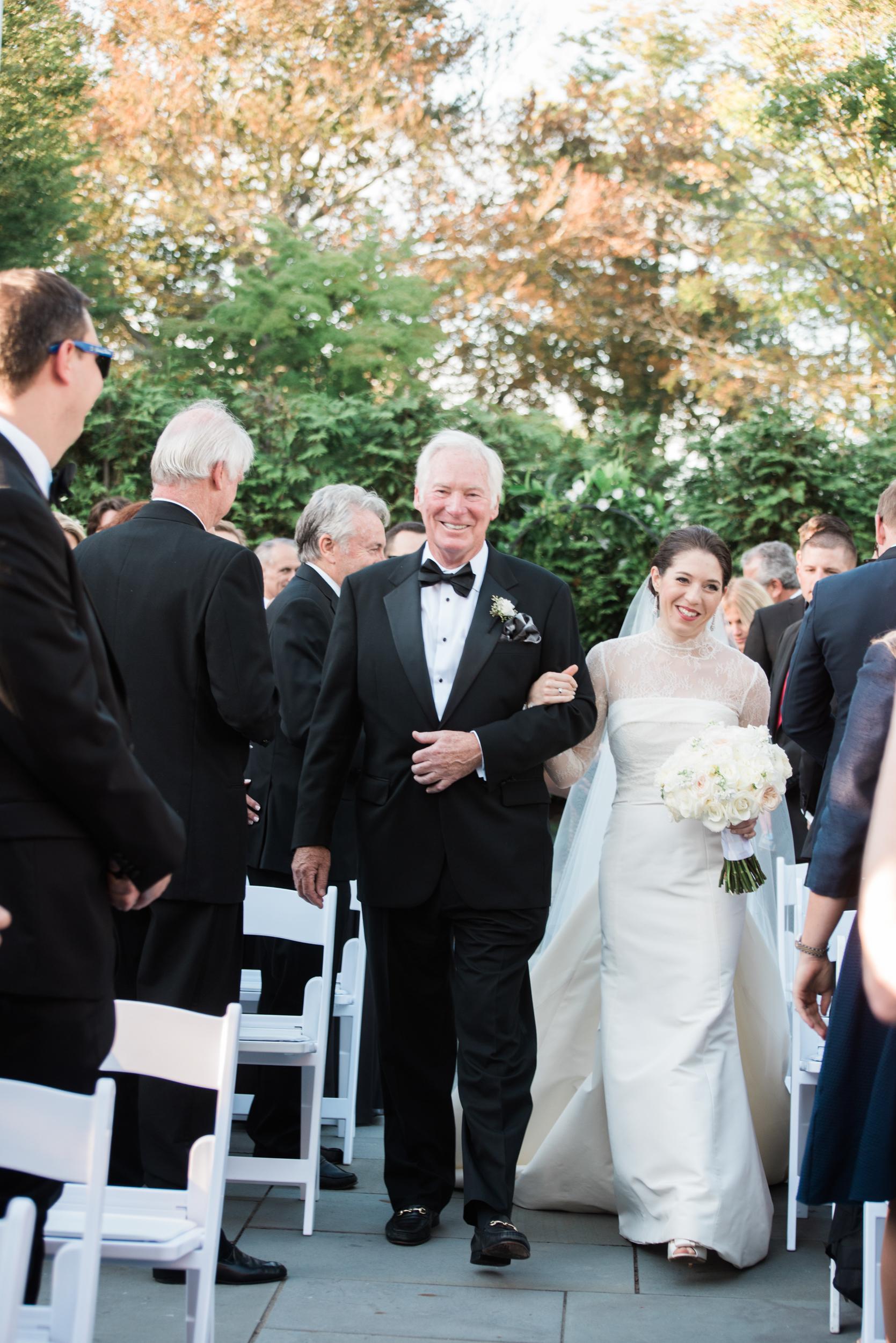 New England Garden Wedding