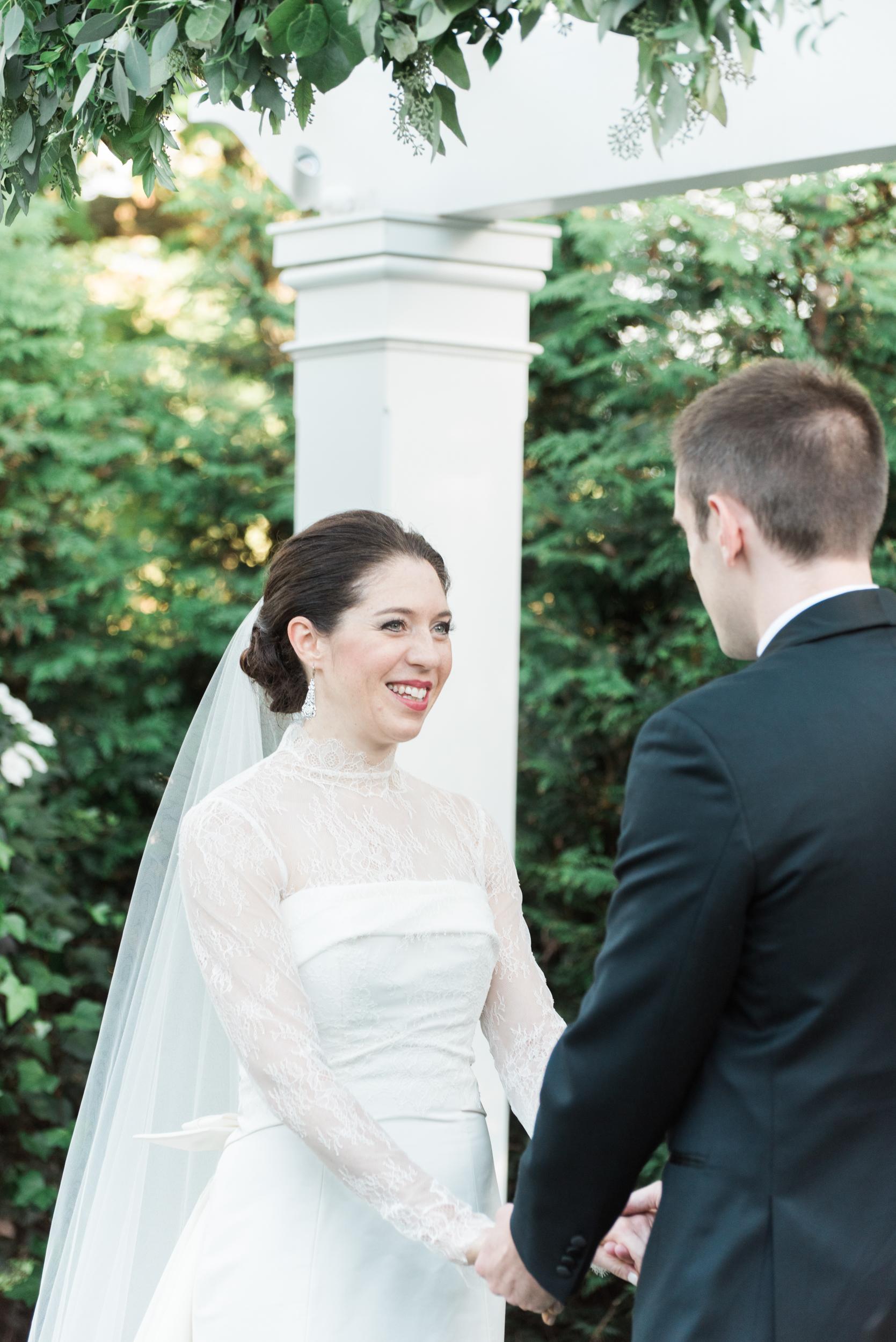 Connecticut Garden Wedding Photographer