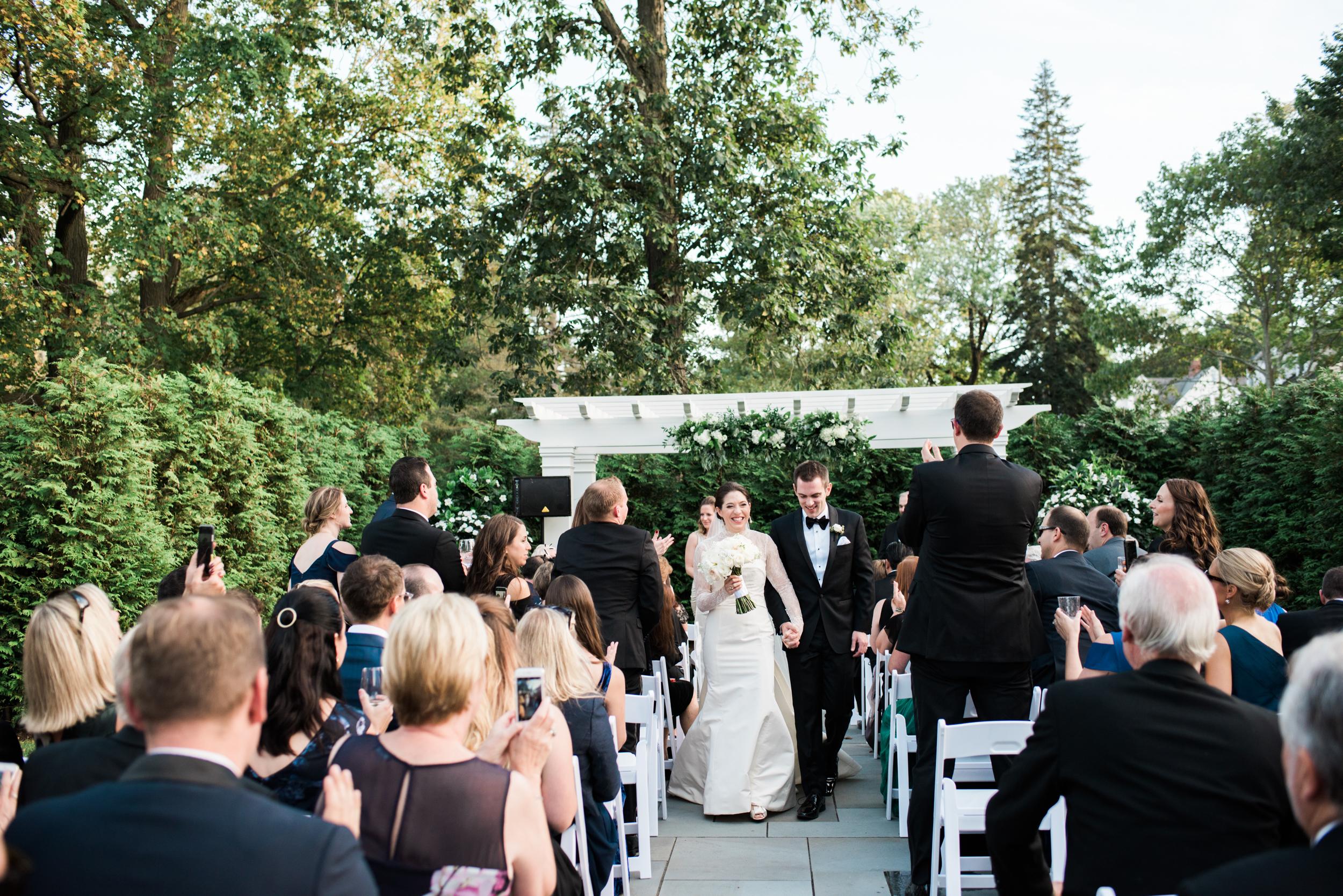 Garden Wedding in West Hartford