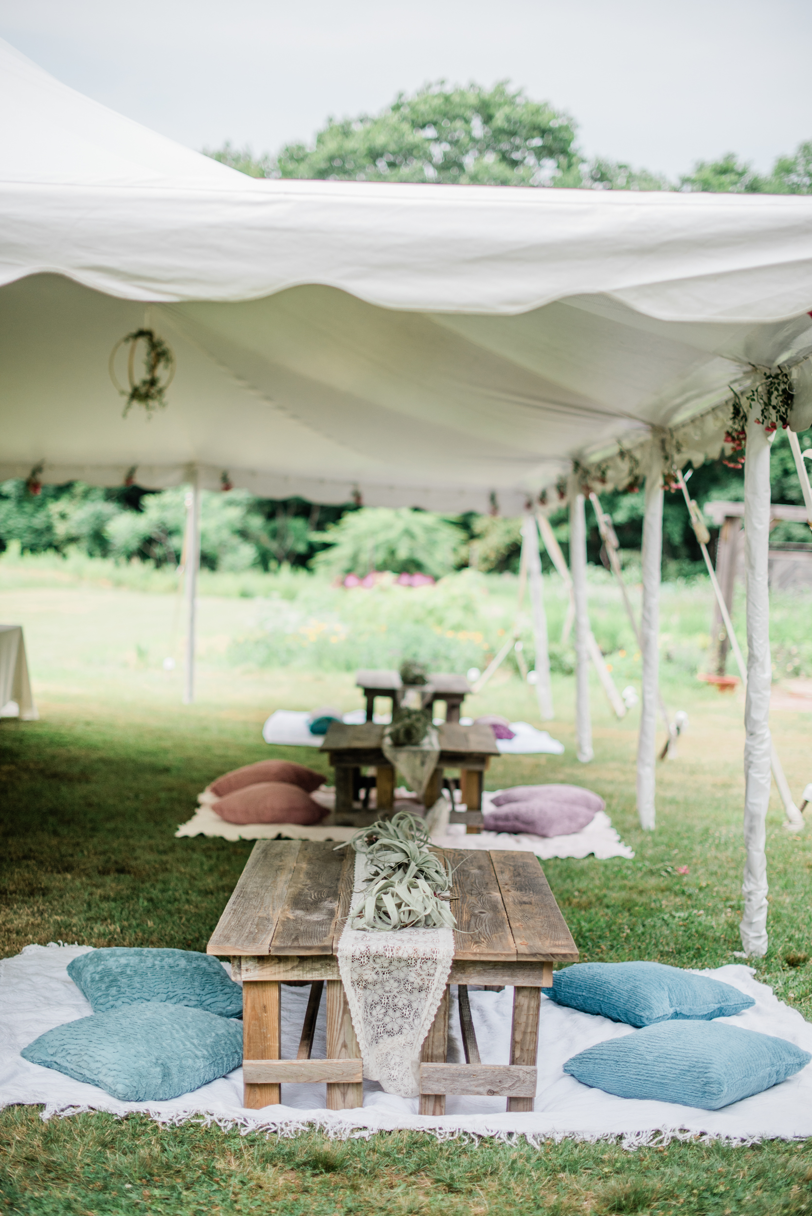 Fine Art outdoor wedding in Maine