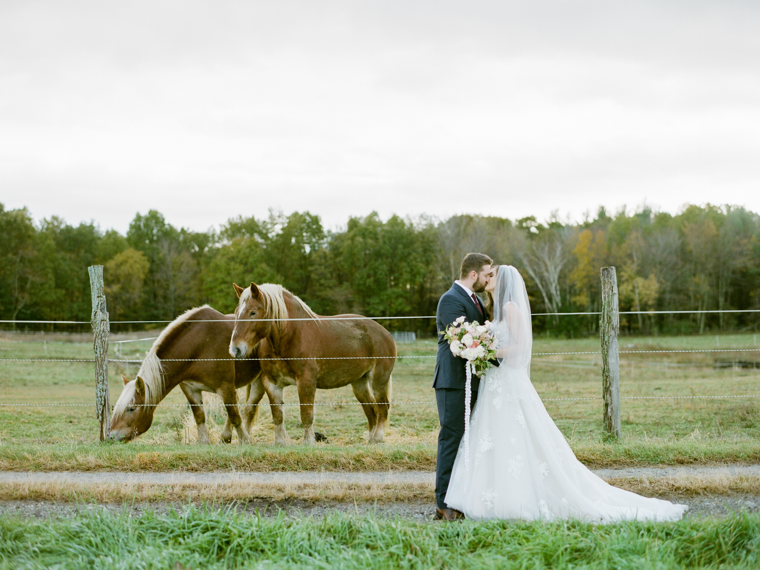 Farm Wedding Photography in Western Massachusetts