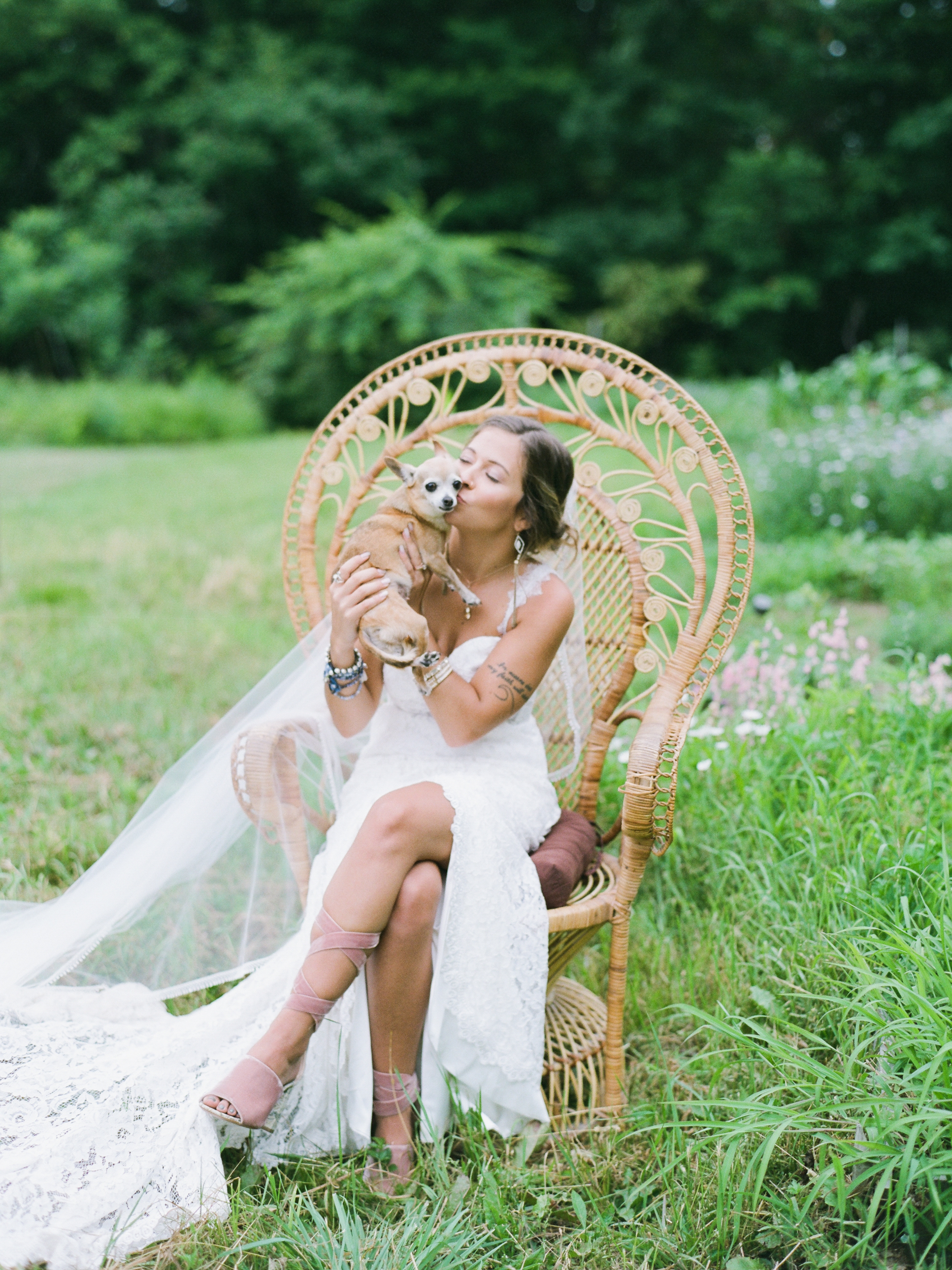 New England Boho Garden Wedding
