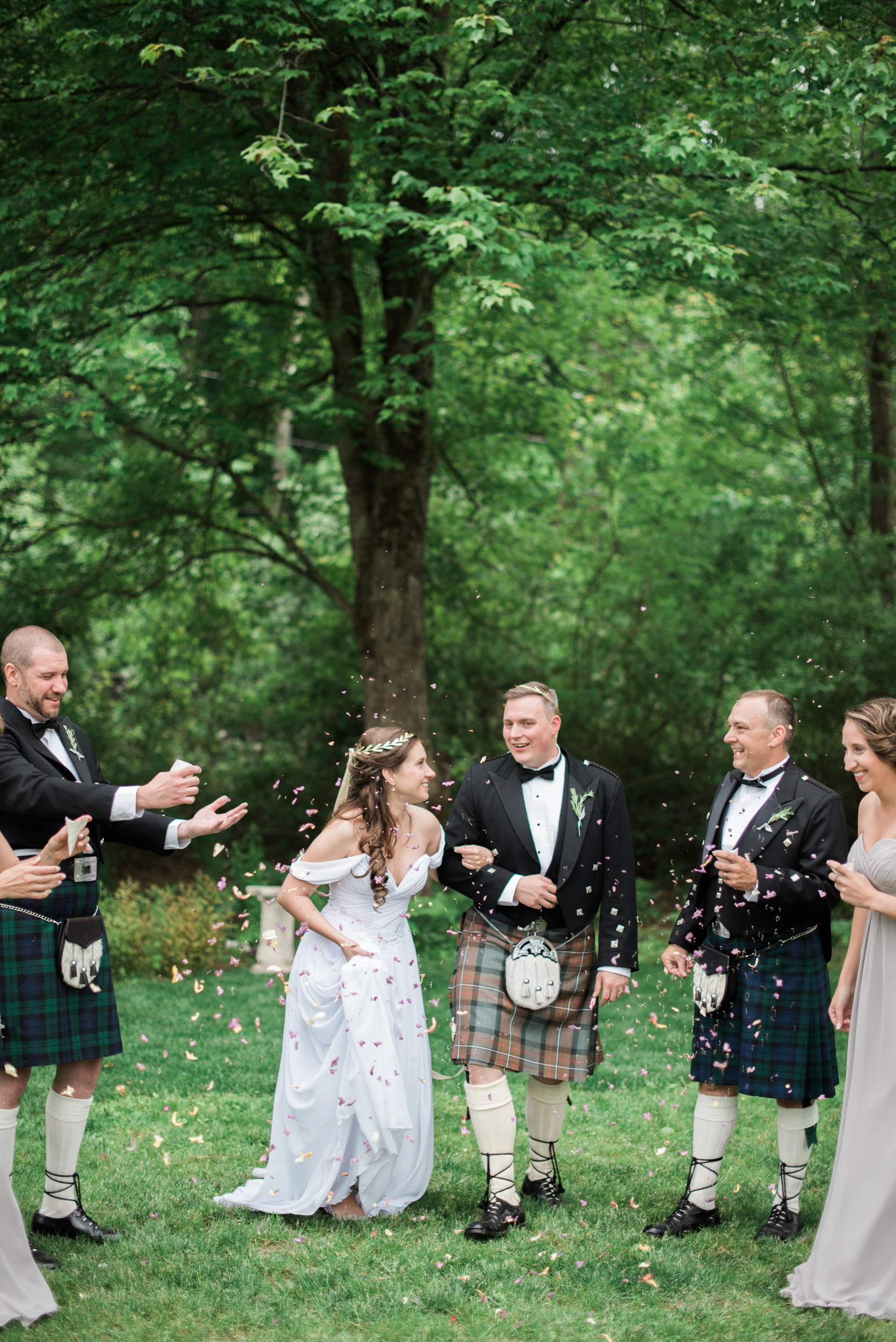 Amherst MA Backyard Wedding