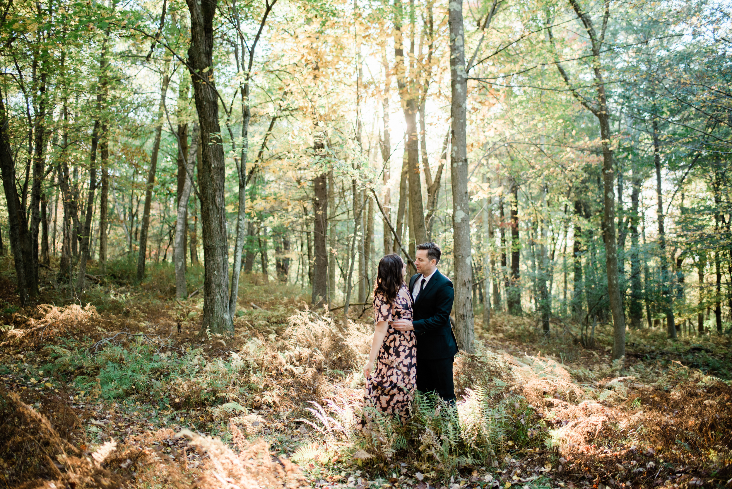 Engagement Photos at the Quabbin