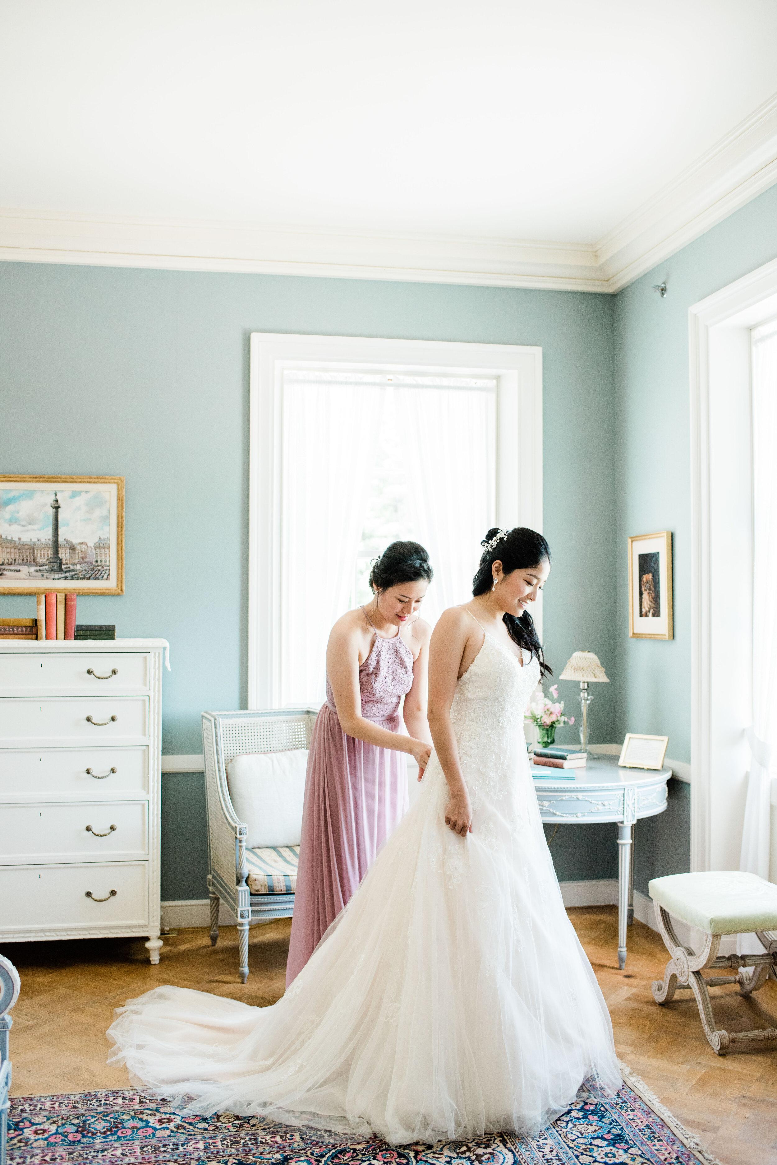 Fine Art Wedding at Edith Wharton's Estate
