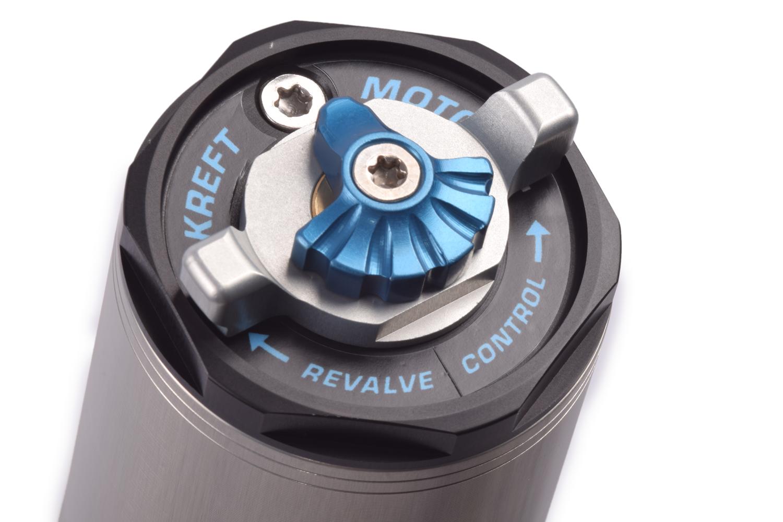 Revalve Control adjuster on the left fork cap