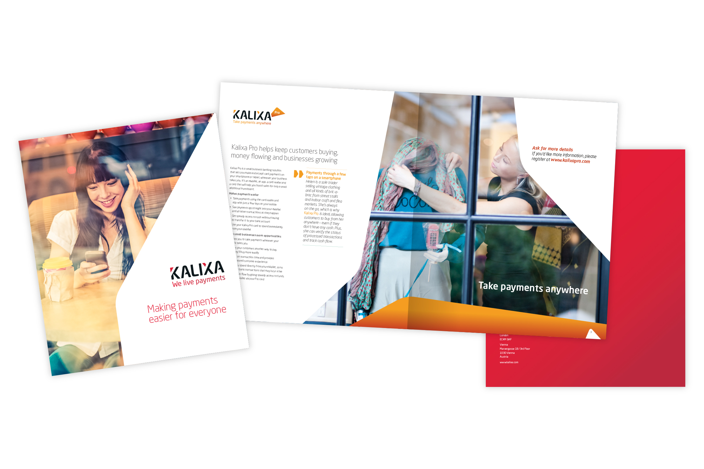Kalixa – Corporate brochure