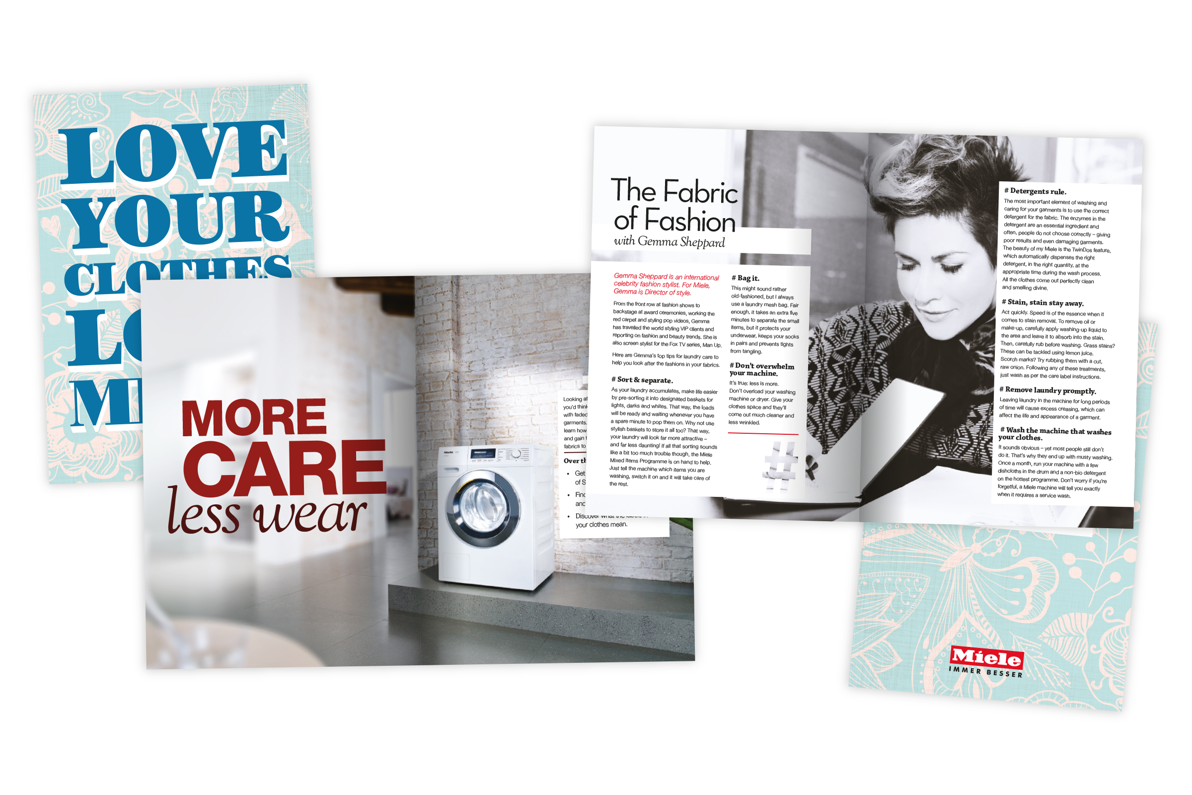 Miele – Laundry care brochure