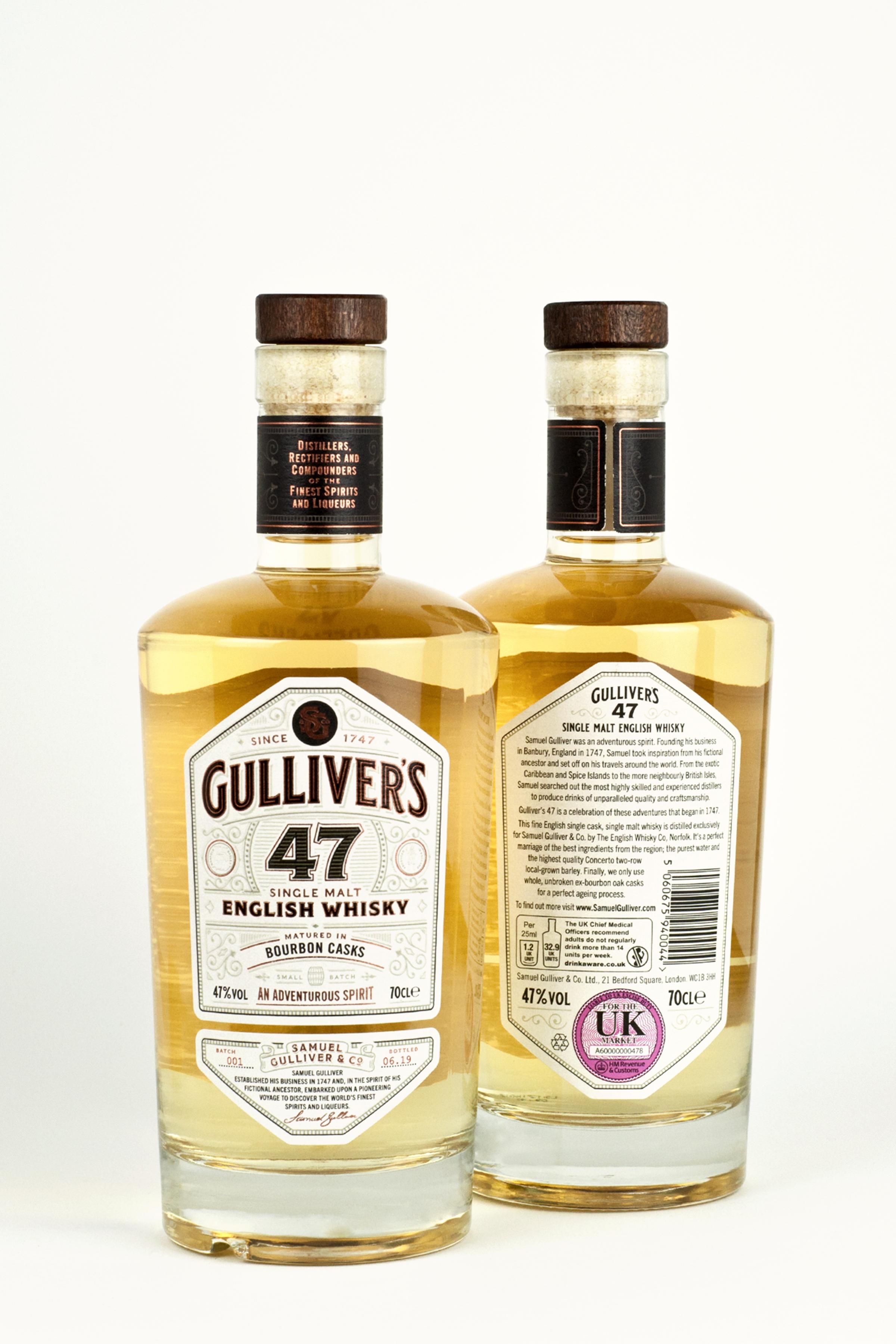 Gulliver's English whisky
