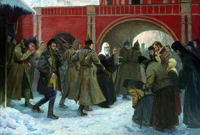 St.-Tikhon-being-arrested-by-Bosheviks.jpg