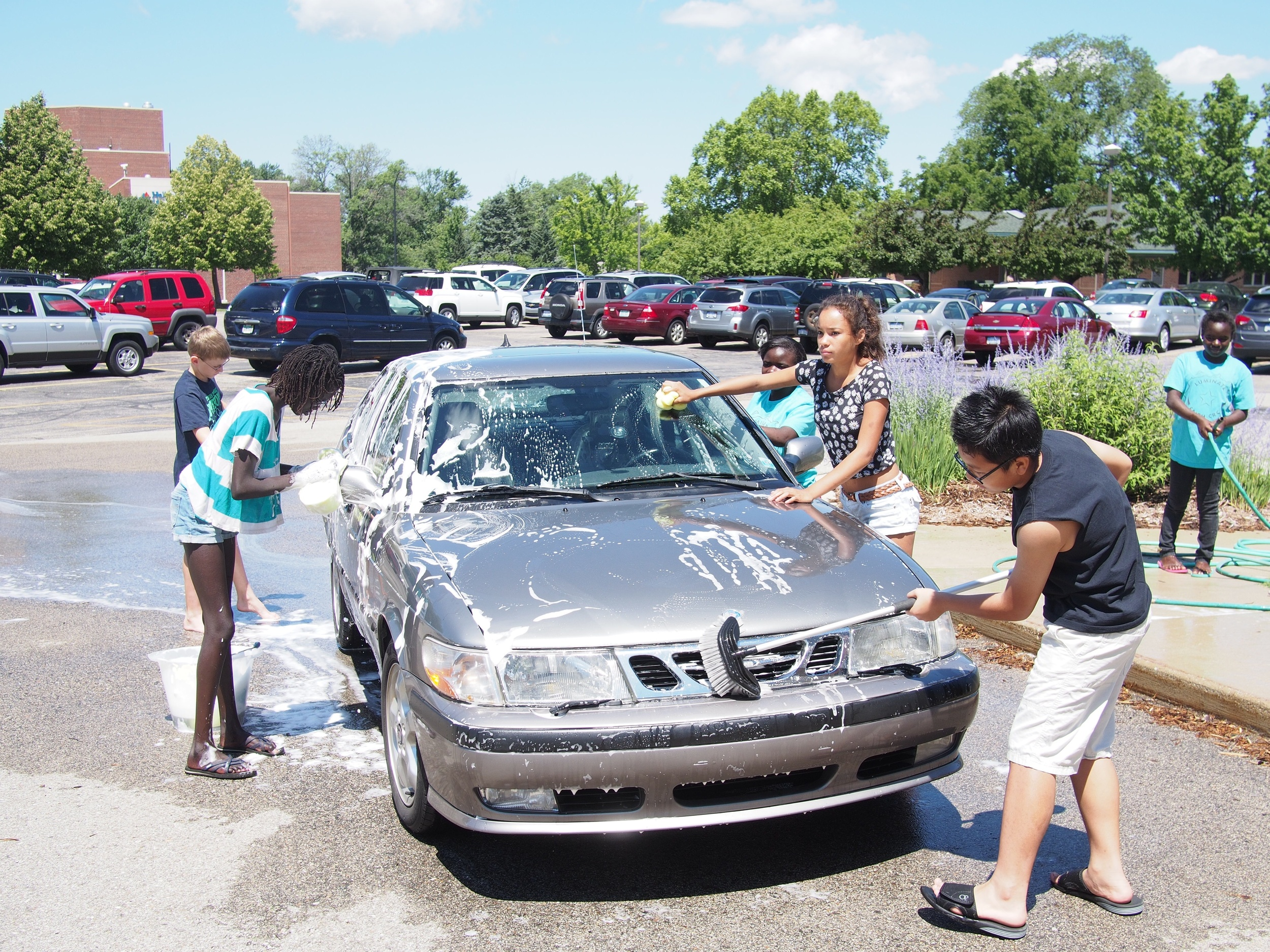 MSM car wash fundraiser
