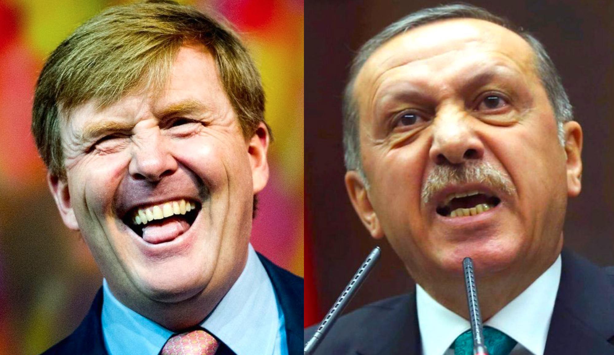 Het ene staatshoofd is het andere niet als het om satire gaat.