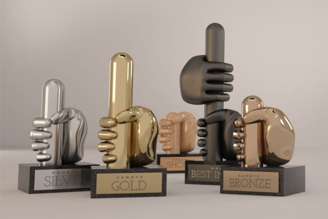 Parodie op reclameprijzen: de Handy Awards