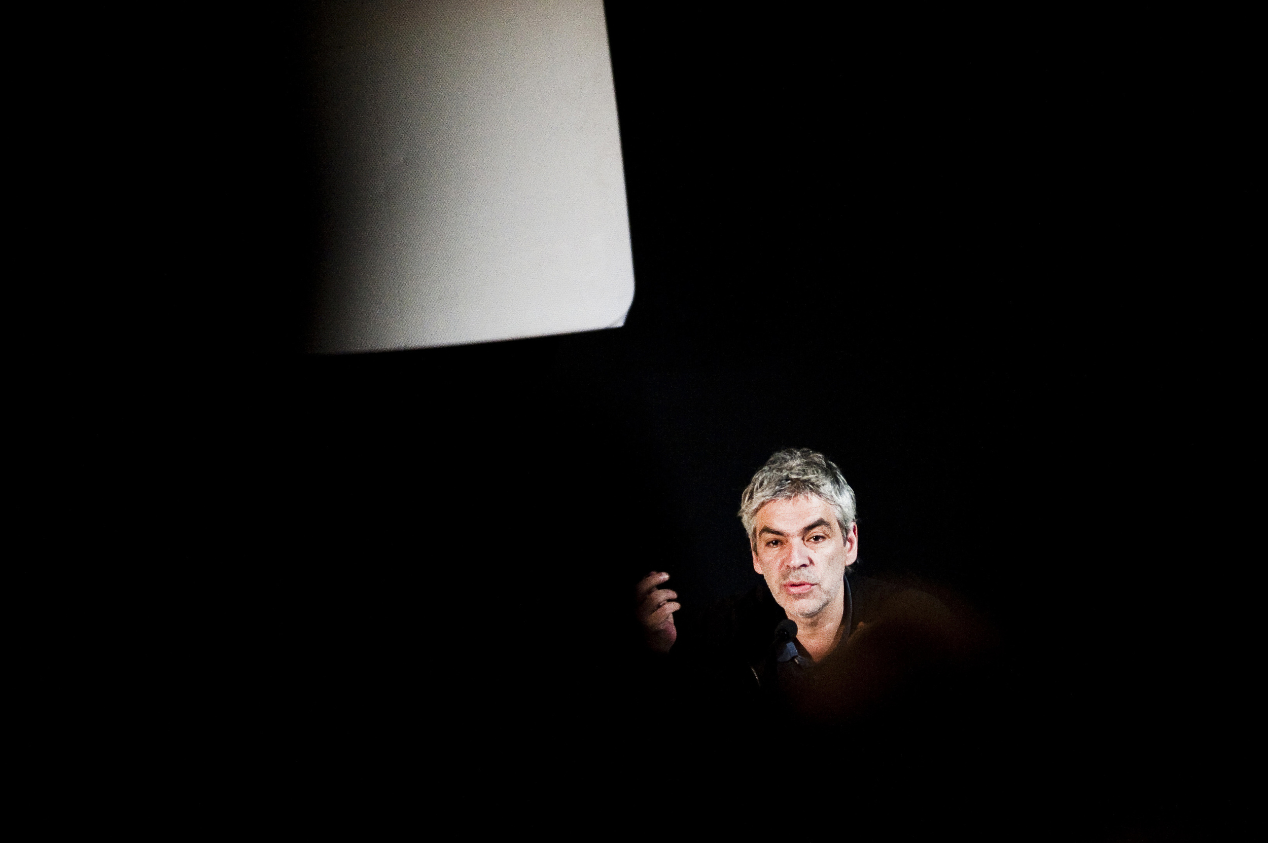 Pedro Costa in a photo taken by Jussi Leinonen