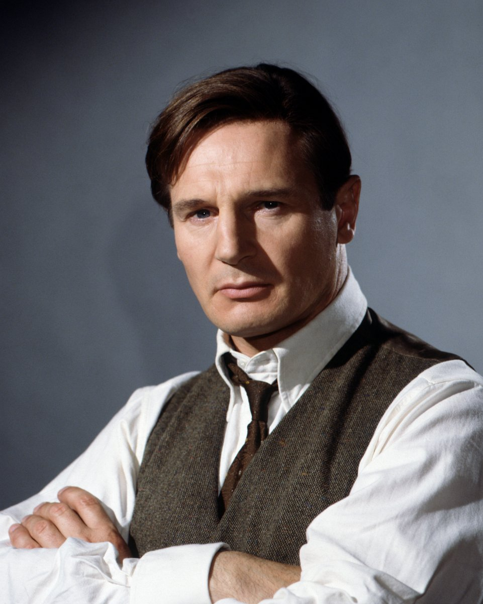 Michael Collins, portrayed by Liam Neeson