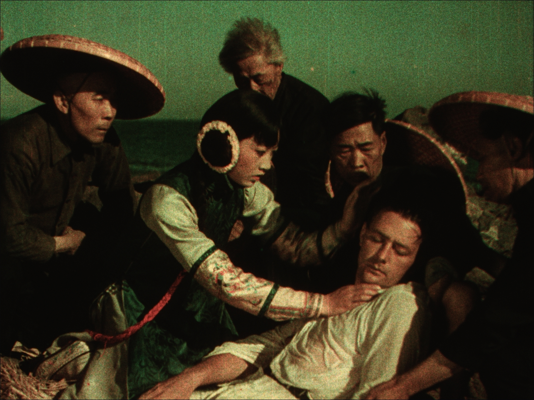 Anna May Wong in the two-strip Technicolor feature  The Toll of the Sea  (1922)