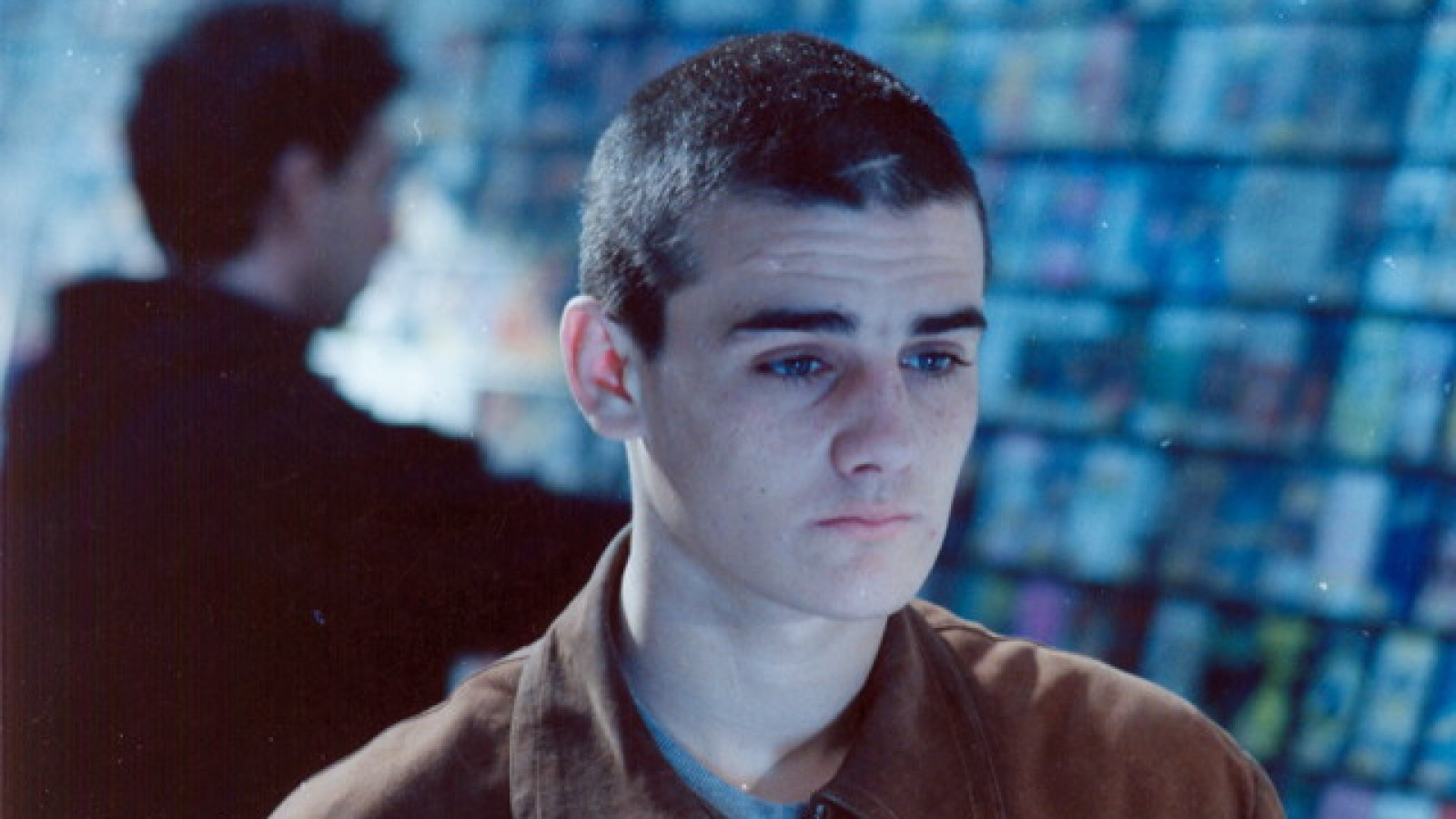 Ezequiel Cavia as Lucio in Rejtman's debut feature,  Rapado  (1992)