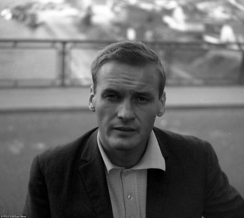 Jerzy Skolimowski as a young man.