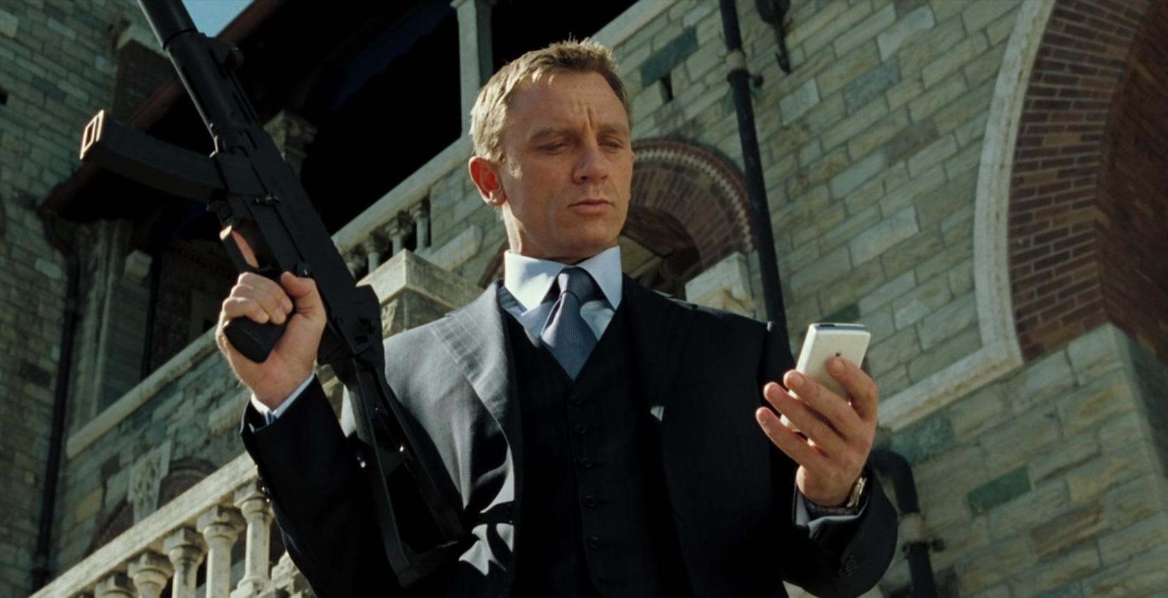 Daniel Craig in 2006's Casino Royale