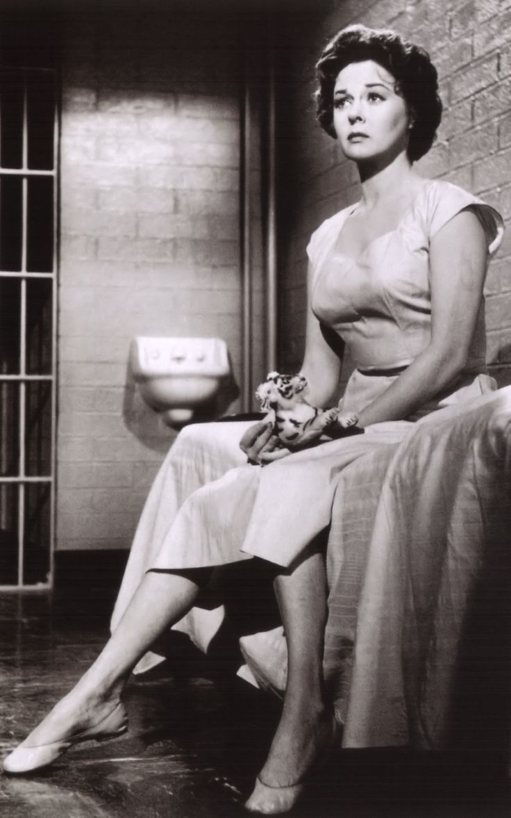 Barbara Graham as Susan Hayward in  I Want to Live!