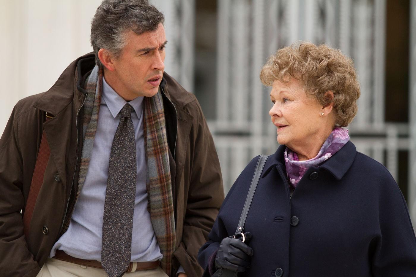 Steve Coogan and Judi Dench in  Philomena
