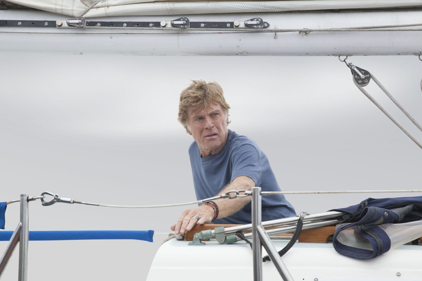Robert Redford wages a solitary battle against the sea in All Is Lost
