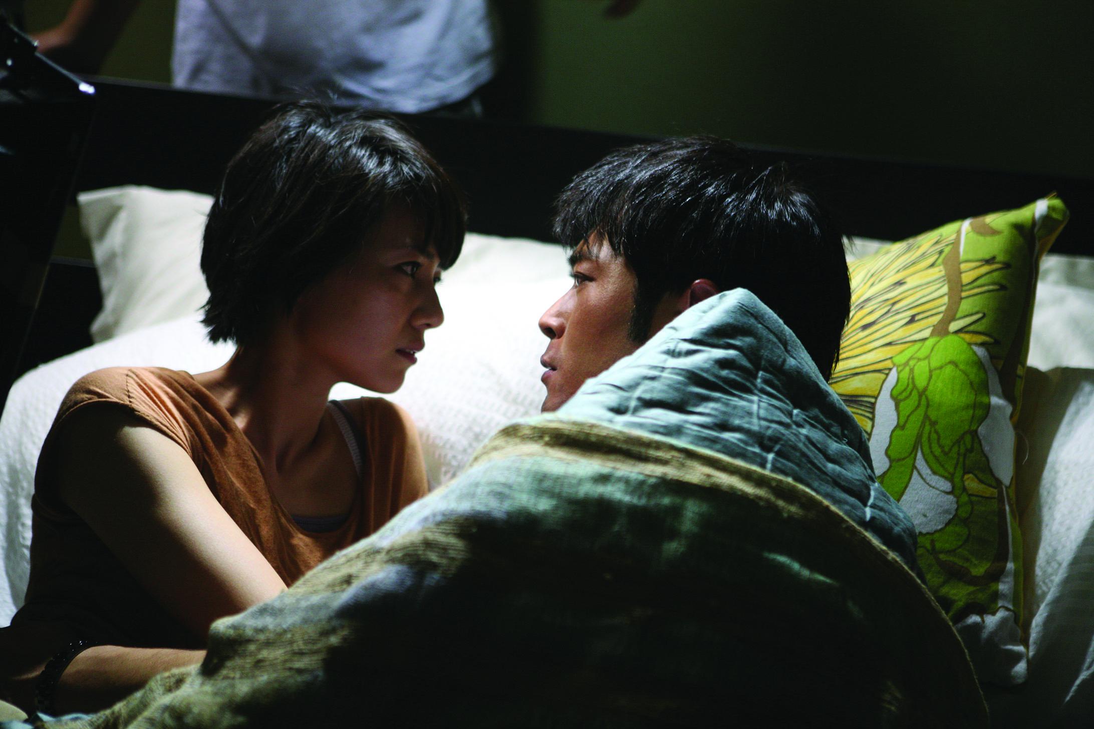 Sean (Louis Koo) and Chi-Yan (Gao Yunyuan) in  Don't Go Breaking My Heart