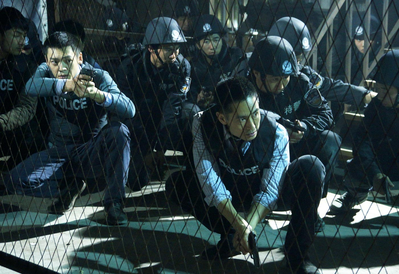 Sun Honglei as Police Captain Zhang in  Drug War