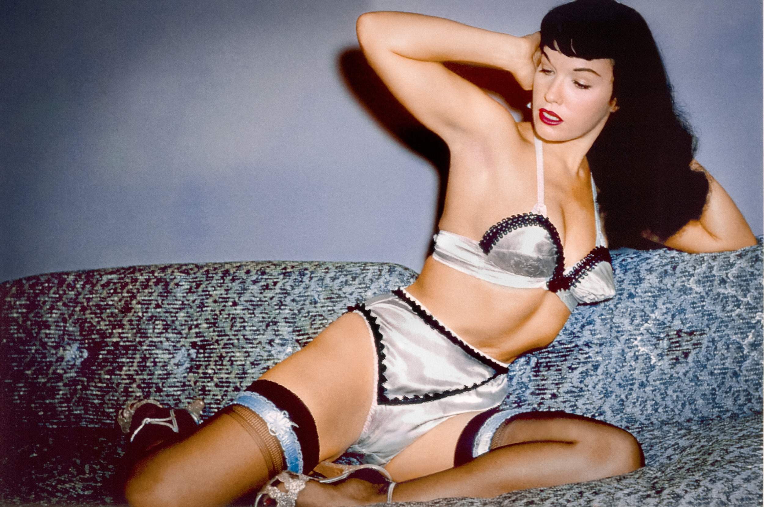 The greatest strength of Bettie Page Reveals All  is that it allows Bettie, via archival audio interviews, to tell her own story