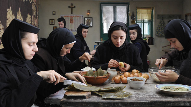 The isolated setting of the religious order at the center of Cristian Mungiu's Beyond the Hills