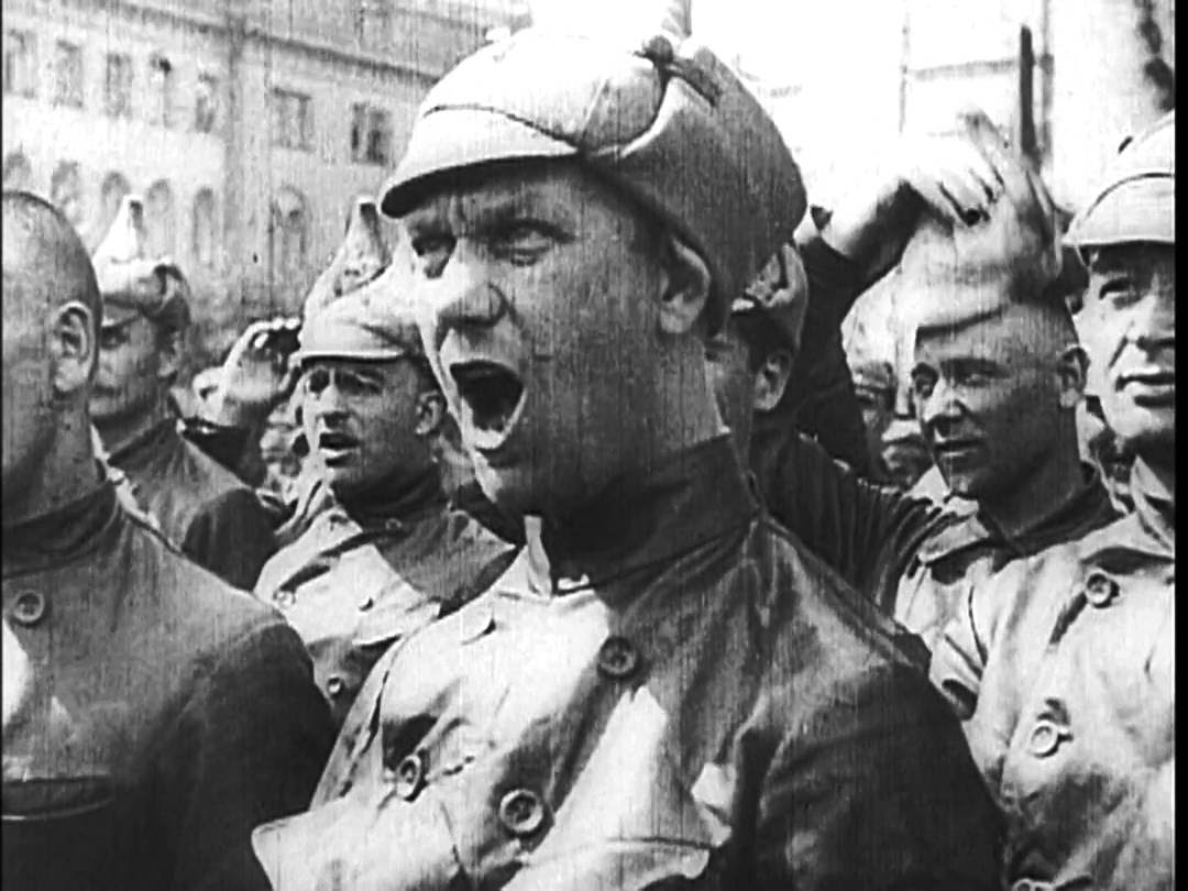 Dziga Vertov's  Stride, Soviet
