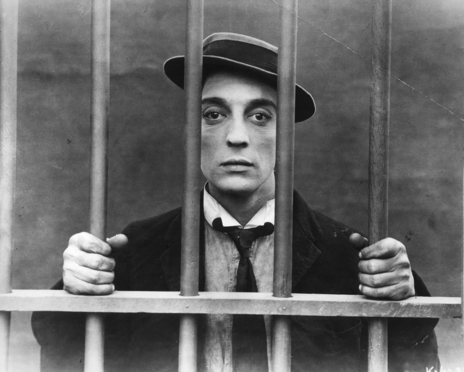 Buster Keaton in  The Goat