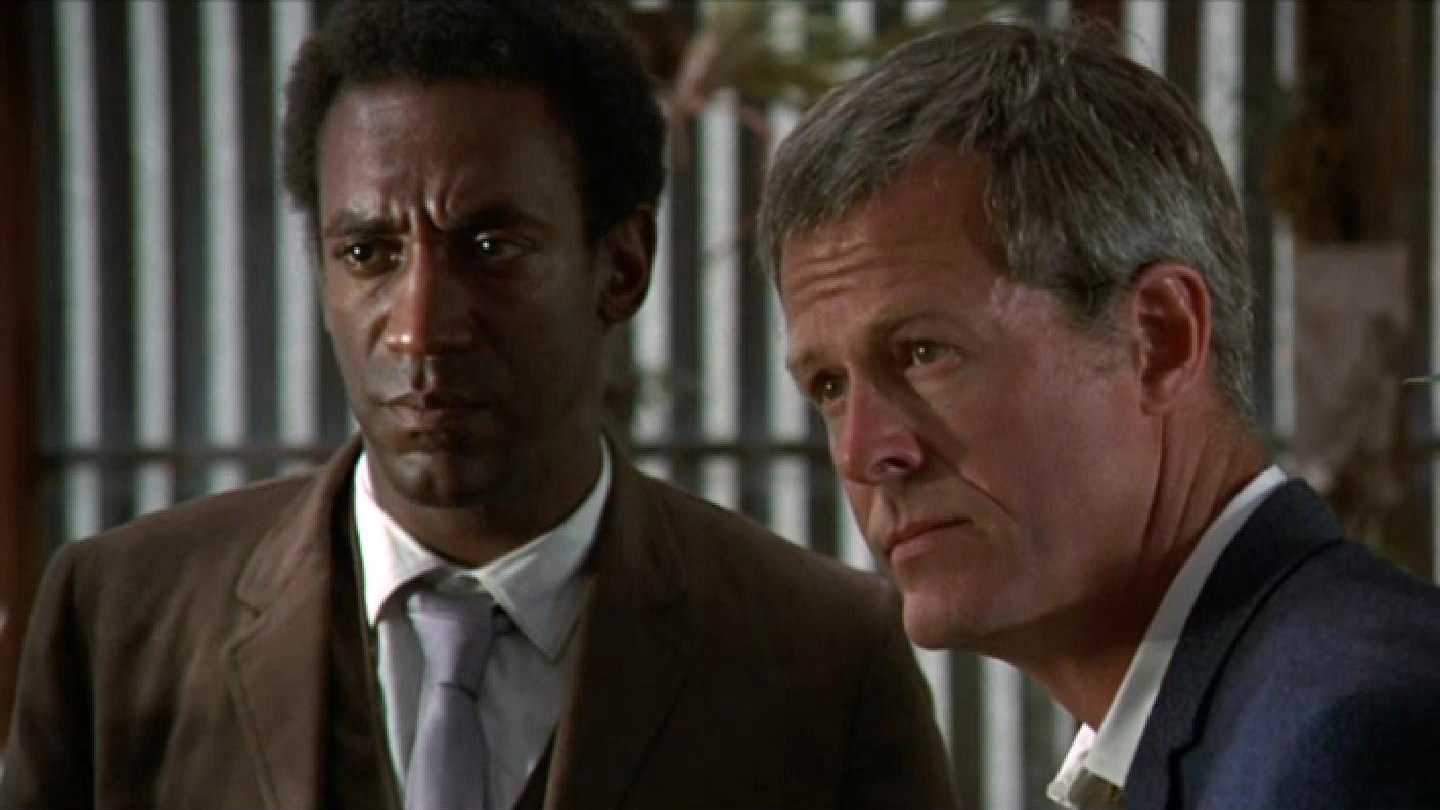 Al Hickey (Cosby) and Frank Boggs (Culp)