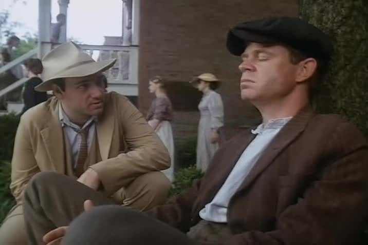 Kevin Spacey as  Wes Brent and William H. Macy as Randy