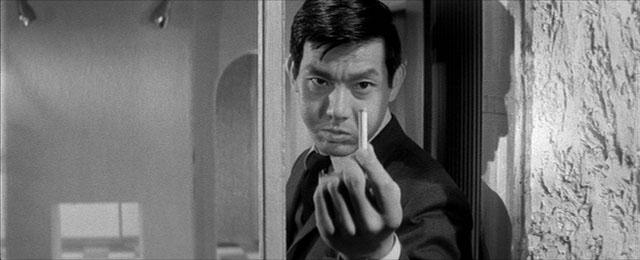 Tough guy Joe Shishido proves that  A Colt is my Passport
