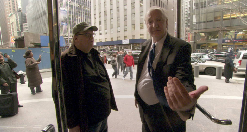Michael Moore Takes on Wall Street in  Capitalism: A Love Story