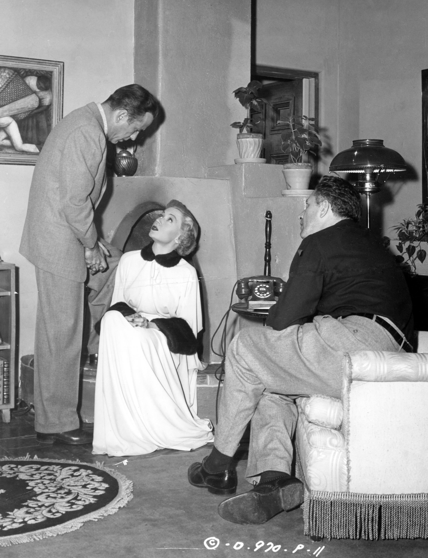 Bogart, Grahame and Ray.Photo courtesy of Photofest.