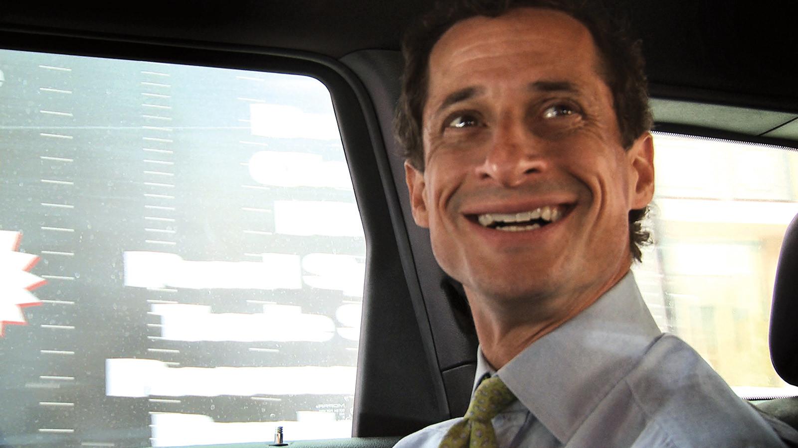 Anthony Weiner in  Weiner.