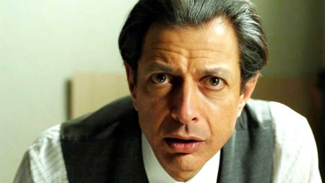 Adam Stein (Jeff Goldblum) in the asylum for Holocaust survivors   in   Adam Resurrected.
