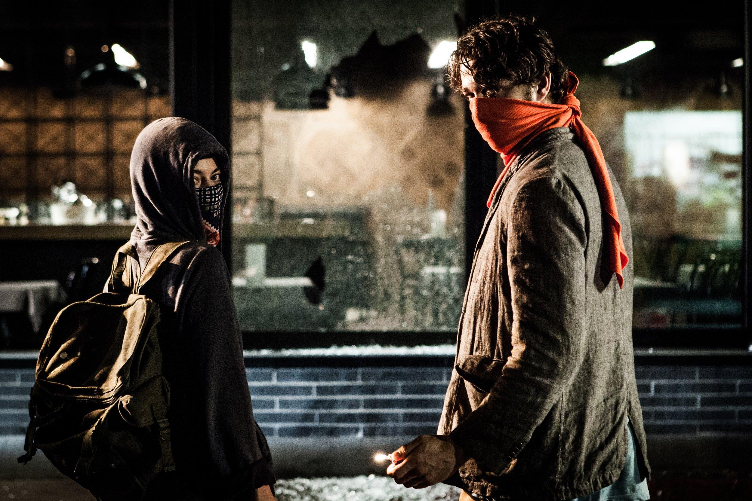 Mathieu Denis and Simon Lavoie's  Ceux qui font les revolutions á moitié non fait que se creuser un tombeau (Those Who Make Revolution Halfway Only Dig Their Own Grave)