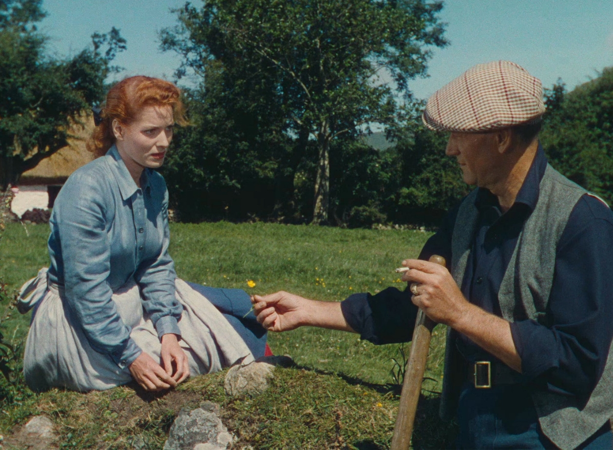 John Wayne and Maureen O'Hara in John Ford's  The Quiet Man  (1952).