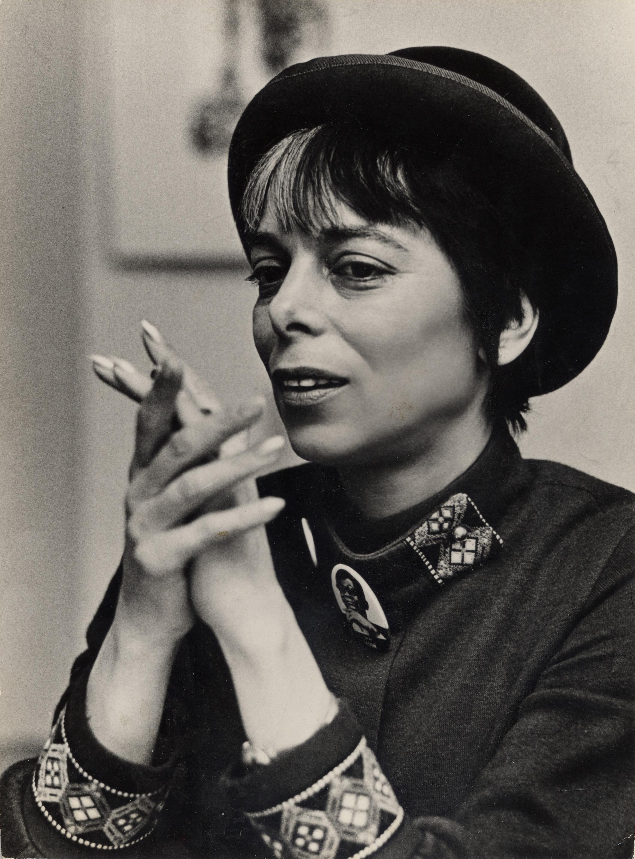 Portrait of Shirley Clarke