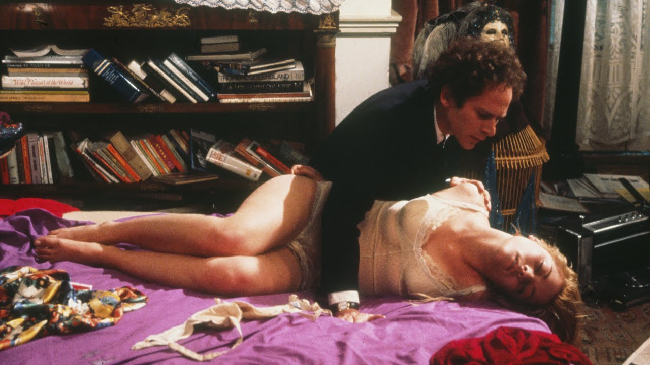 Art Garfunkel and Theresa Russell in Nicolas Roeg's  Bad Timing  (1980).